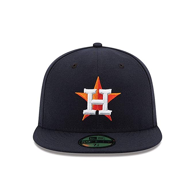 b857f5c8700 Amazon.com  New Era 59FIFTY Houston Astros Navy MLB 2017 Authentic  Collection On Field Home Fitted Cap  Clothing