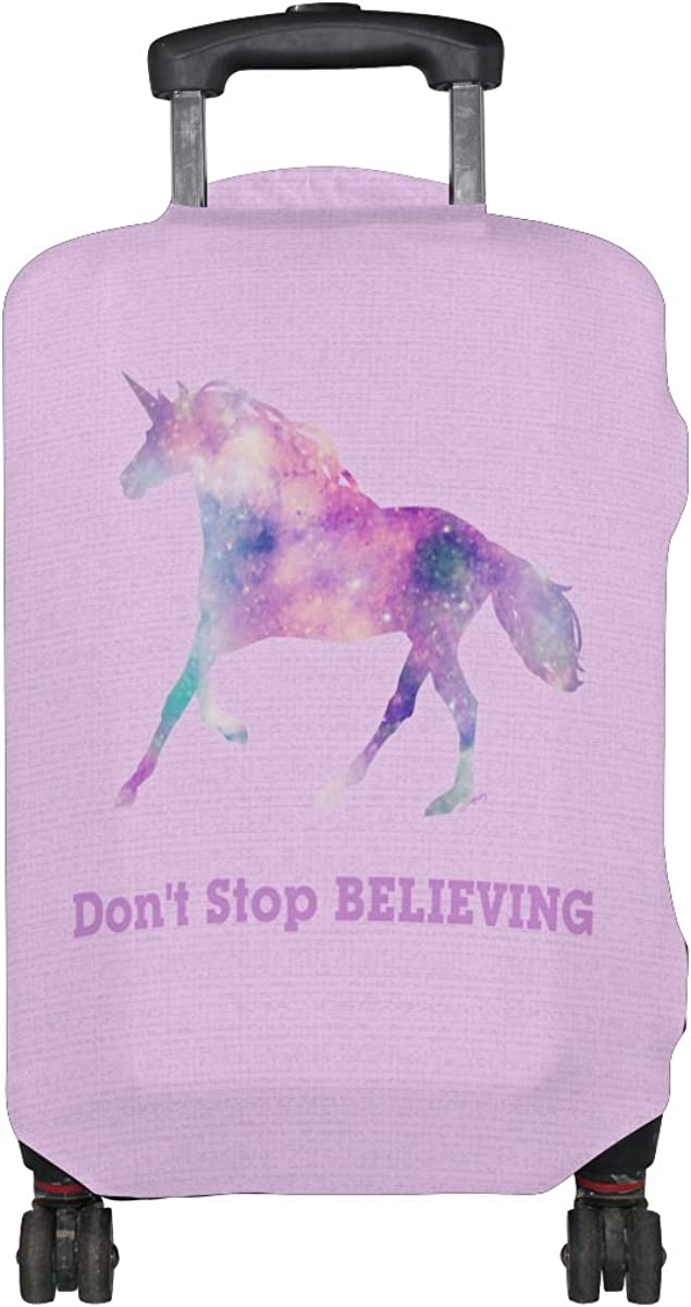 ALAZA Luggage Cover Pink Unicorn Travel Case Suitcase Bag Protector Kid Girl 25