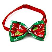 Scrox 1x Navidad Decoracion Mascotas Collar Perro Adornos Arco Perros Accesorios Abrigos Lindo Pajarita Gato Peluche Perro Juguete Mascotas Navidad Ropa