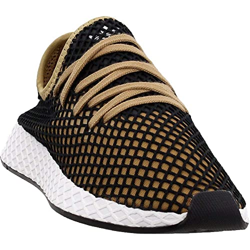 fd84da934fd7b Adidas Originals Deerupt Runner Shoe Men s Casual 8 Cardboard-Black-White