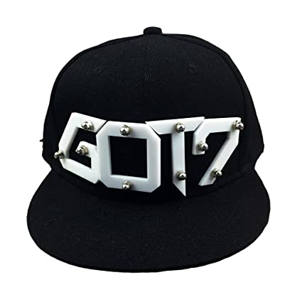 KPOP GOT7 Baseball Caps Hat Yugyeom Bambam Mark Jackson Sunhat Snapback Black