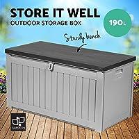 Gardeon Storage Box Outdoor Lockable Waterproof Garden Toy