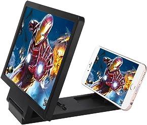 iprotect mobiles Smartphone-Display-Vergrößerungsglas – Lupe in Schwarz