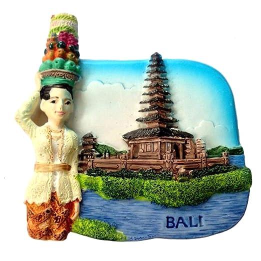JUSTDOLIFE Imán De Nevera Moda Malasia Bali Viaje ImáN De Nevera ...
