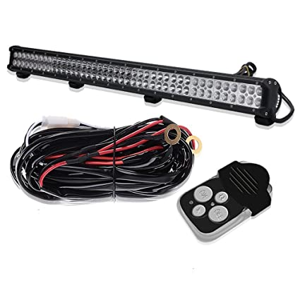 amazon com dakride 252w 39 inch led light bar combo beam offroad rh amazon com Ford Tractor 3930 Wiring-Diagram Diesel Tractor Wiring Diagram