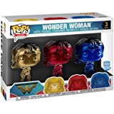 Funko POP Vinyl-JUSTICE LEAGUE-WONDER WOMAN SILHOUETTE-Glow in the Dark