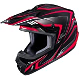 HJC CS-MX II Edge Off-Road Motorcycle Helmet Black Red X-Large