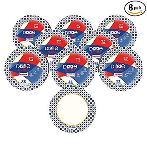 Dixie Ultra ZAZ Paper Plates, Heavyweight