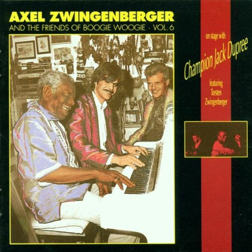 Axel Zwingenberger & His Friends of Boogie Woogie by Vagab