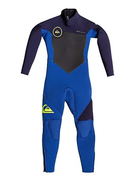 Quiksilver 4/3mm Syncro Series - Traje de Surf GBS con Cremallera Trasera para Niños 2-7: Quiksilver: Amazon.es: Ropa y accesorios