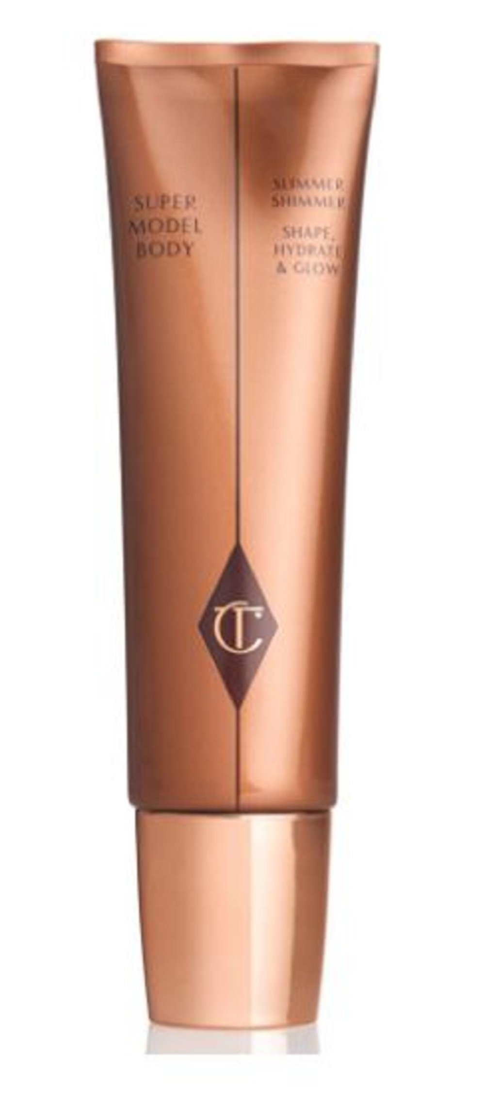 Exclusive New Supermodel Body Slimmer Shimmer: Shape, Hydrate & Glow 60ML - Charlotte Tilbury
