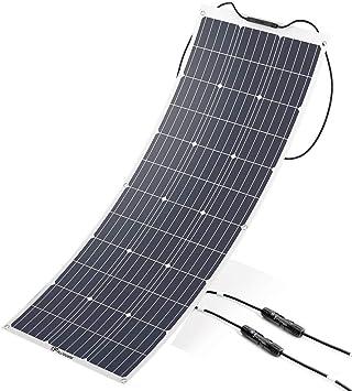 Plusenergy wccsolar Panel Solar Flexible Monocristalino 100W ...
