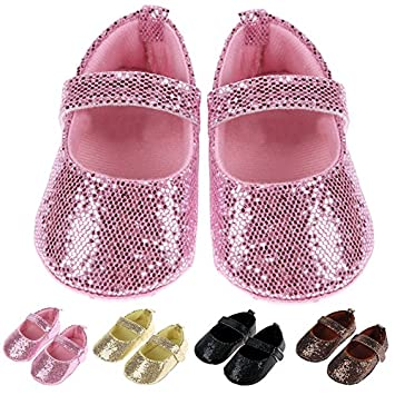 Amazon.com   Luxfy(TM) Cute Baby Girl Shoes Toddler Baby Moccasin Soft Sole  First Walkers Prewalkers Casual Baby Shoes   Baby ac7bd1cae
