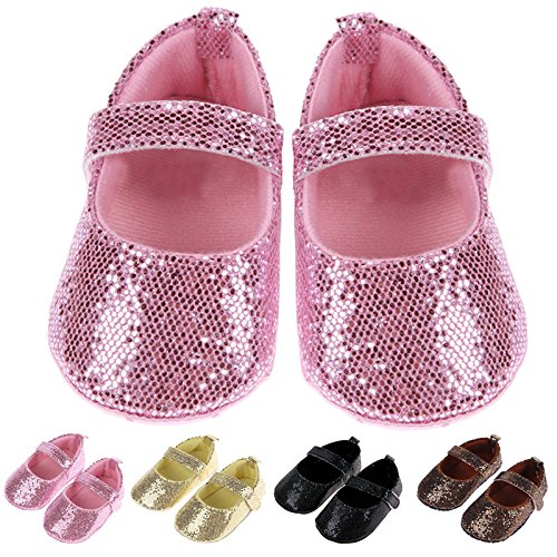 Vecty (TM) fille Cute Baby Shoes Toddler b¨¦b¨¦ Moccasin semelle souple Premi¨¨res Walkers Prewalkers Casual Chaussures b¨¦b¨¦