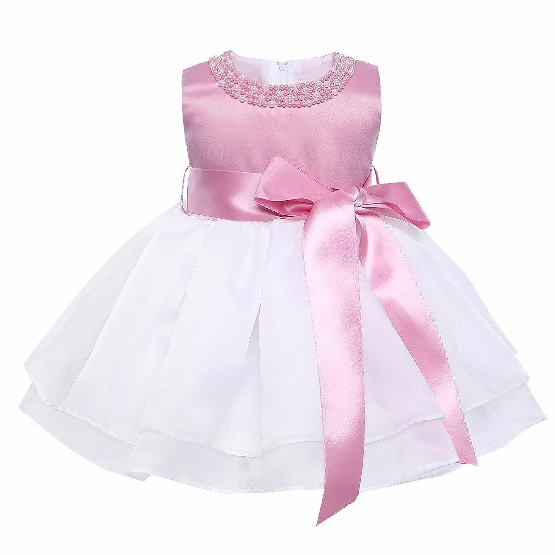 iiniiim Vestidos Princesa Tutú Elegante de Recién Nacido para Fiesta ...