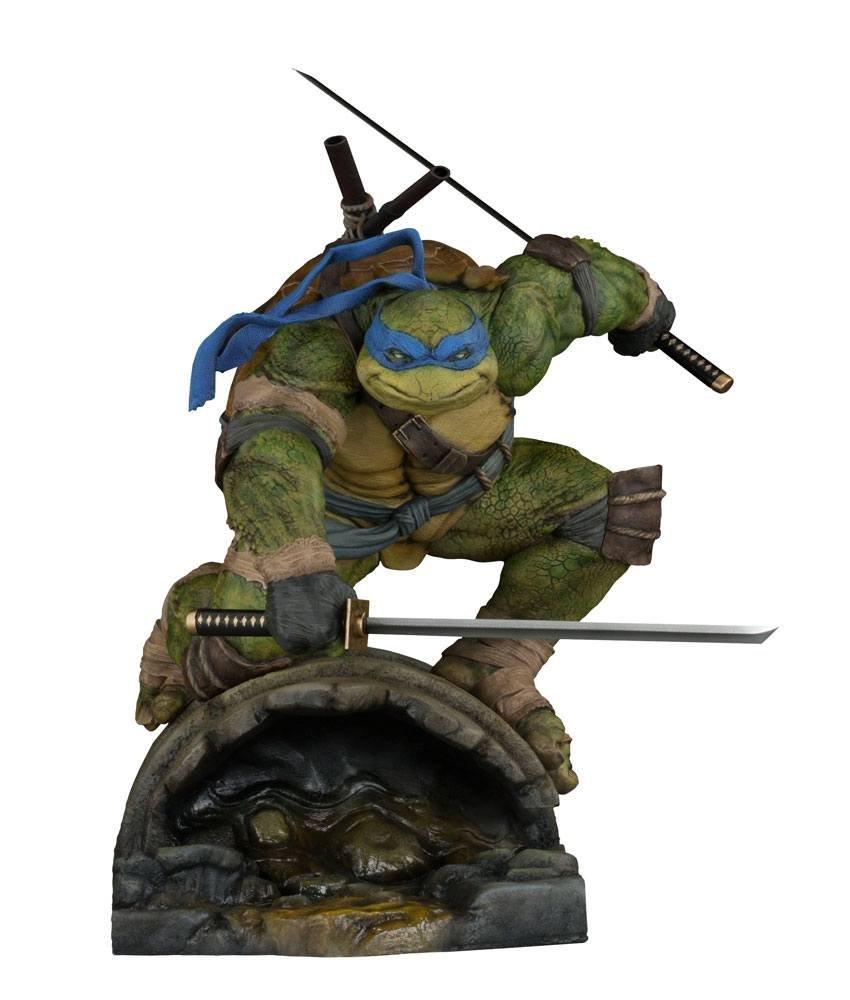 Sideshow Tortugas Ninja Leonardo Figura, 747720234000, 37 cm