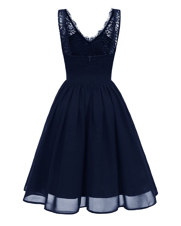 Por la noche en forma de corazón de la Toscana nupcial novia vestidos de gasa vestido corto de encaje de la fiesta de baile para mujer vestidos de cóctel: ...
