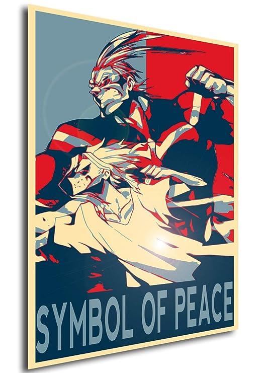 Instabuy Poster Propaganda - My Hero Academia - Symbol of ...