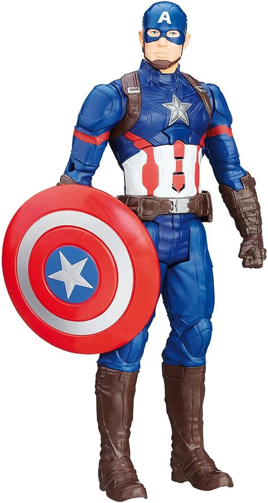 Hasbro Marvel Avengers Capitan America B6176103 Captain America Elettronico