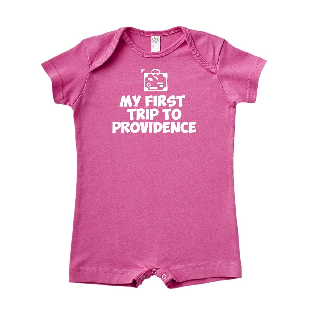 Baby Romper Mashed Clothing My First Trip to Providence