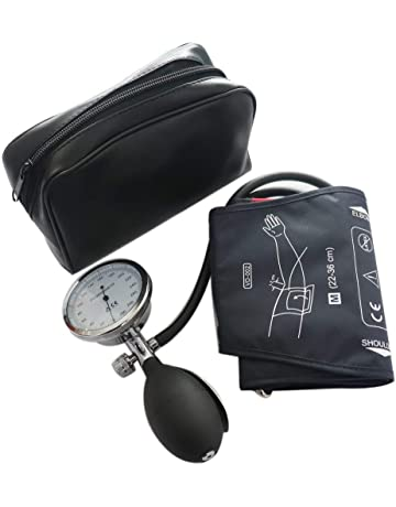 Manual Blood Pressure Cuff, Single Tube Cuff with Pressure Gauge and Inflation Bulb (Adult