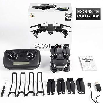 FEICHAO SG901 Cámara Drone 1080P / 4K HD Cámara Dual Gran Angular ...