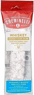 product image for Creminelli Whiskey Salami, Humanely-Raised U.S. Pork, Keto & Paleo Friendly, High Protein - Sugar Free, Gluten Free, No Added Nitrates or Nitrites (Whiskey, 5.5 oz)