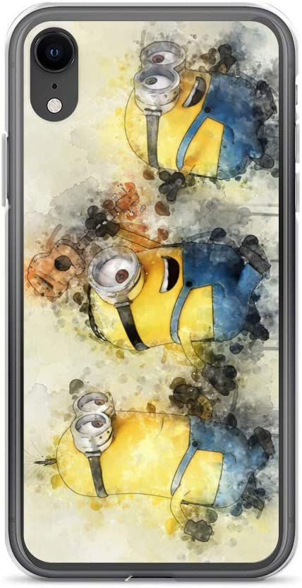 Cover Iphone 6 Minions 3d With Glitter