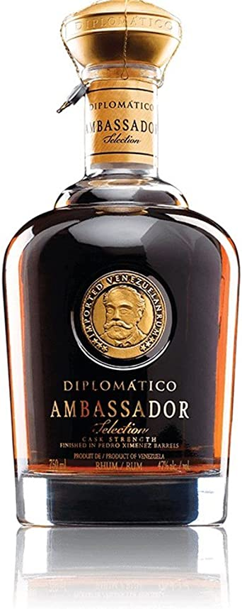 Ron Diplomático Ambassador 47 ° - 70 cl: Amazon.es ...
