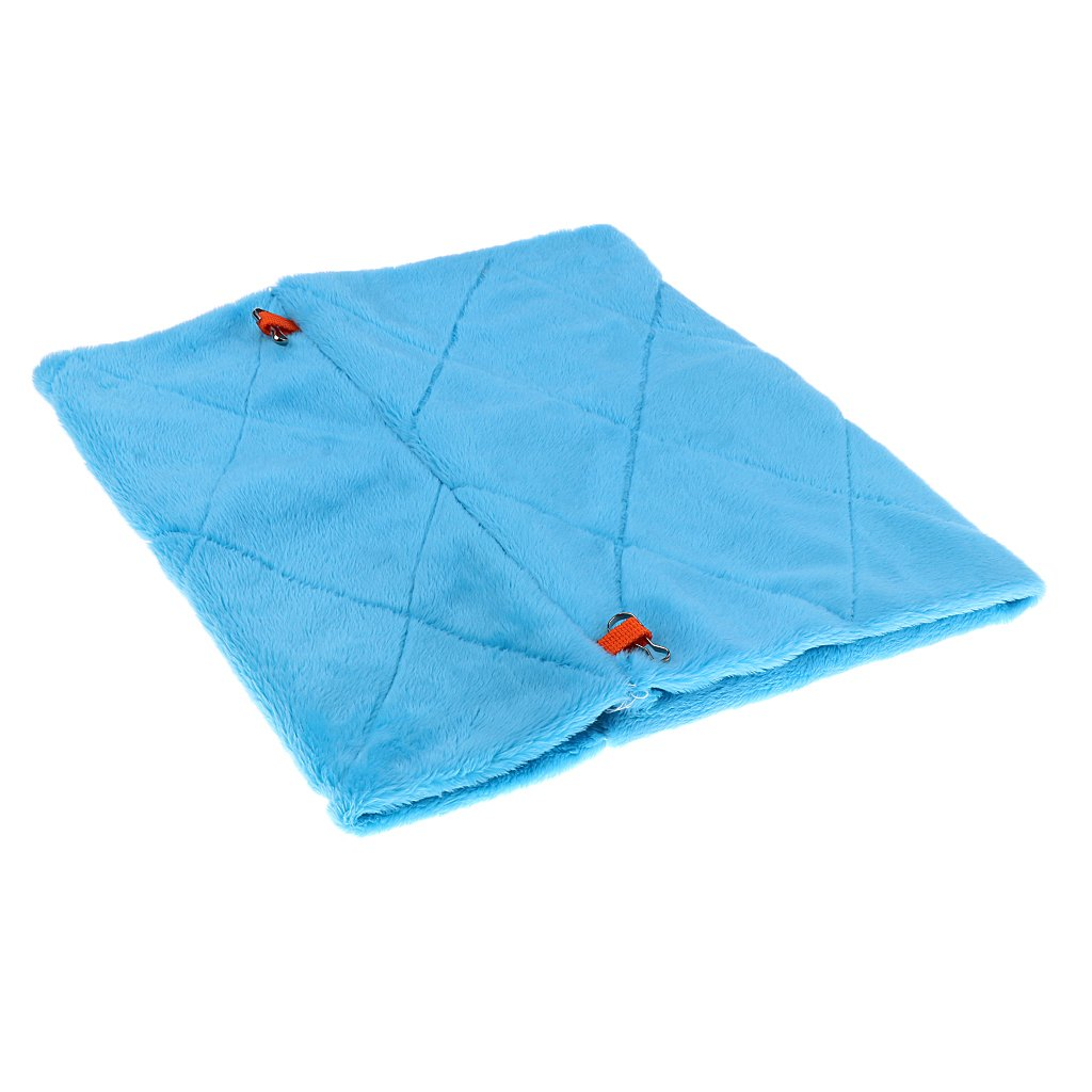 Blue Parrot Bird Hammock Hanging Cave Cage Snuggle Happy Hut Tent Bed Bunk Toy (L) Generic STK0114010080