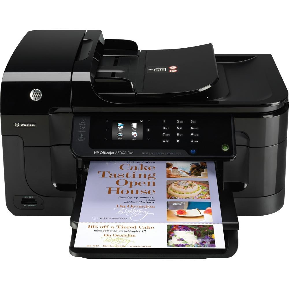 Amazon.com: HP Officejet 6500A Plus e-All-in-One (CN557A#B1H): Electronics