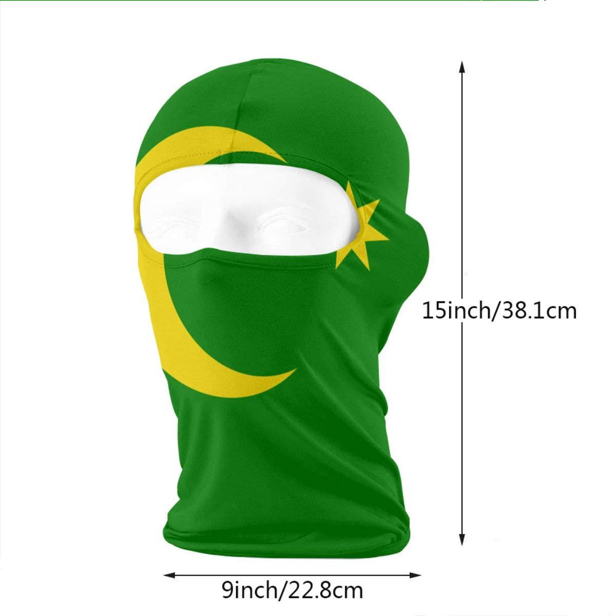 LaoJi Flag of The Cocos Islands Winter Ski Mask Balaclava Hood Wind-Resistant Face Mask Keeling