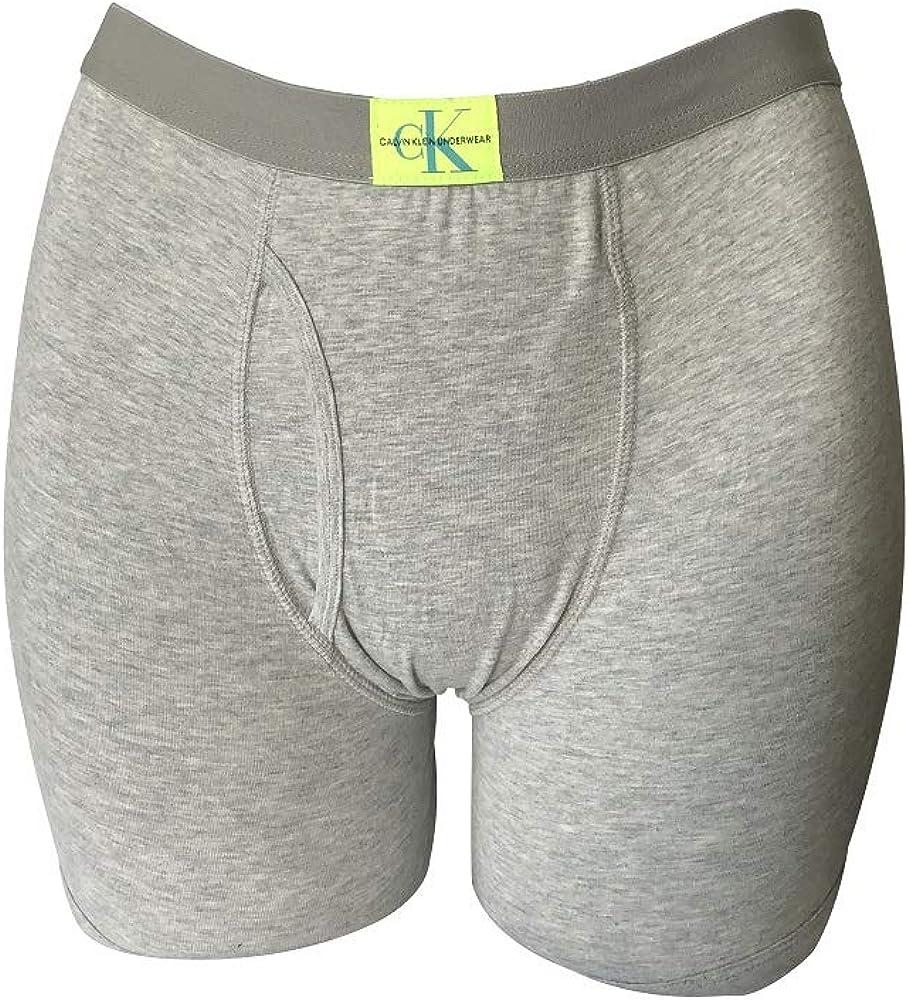 Calvin Klein Boys Boxer Brief Underwear Cotton Stretch Logo Waistband (6 Pack): Clothing
