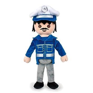 PLAYMOBIL - Peluche Policia 30cm - Calidad super soft