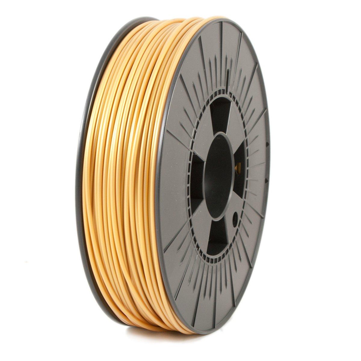 Ice Filaments ICEFIL3ABS101 Filamento ABS, 2,85 mm, 0,75 kg, Dorado