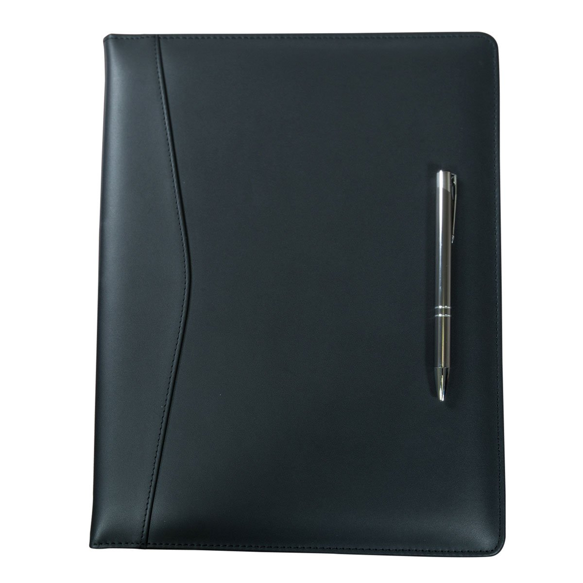 Dacasso Leather Standard Portfolio, Black (E1001) by Dacasso