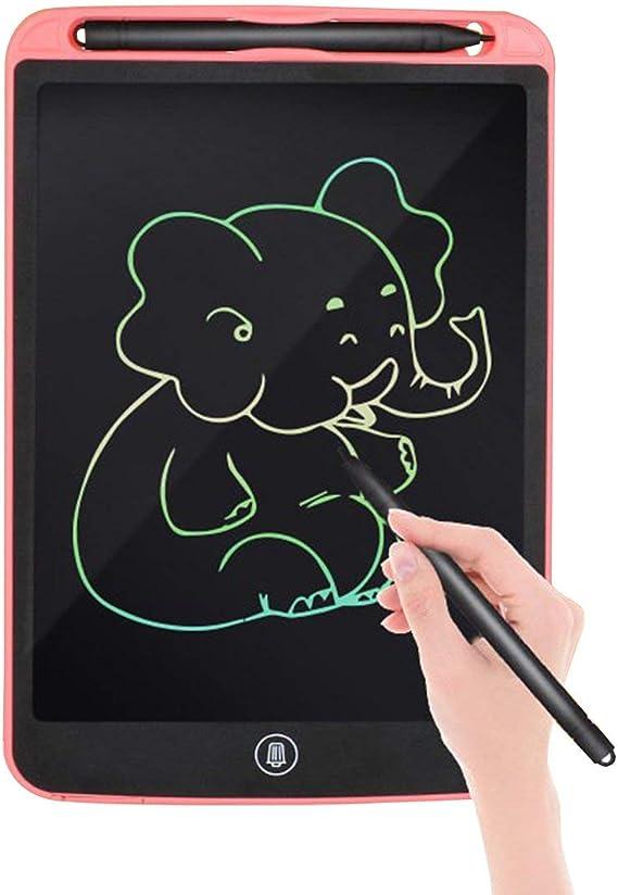 LCD描画タブレットデジタルライティンググラフィックタブレット電子手書きパッド部分的に消去可能な描画ボード15インチ(赤)