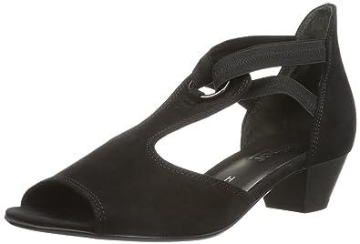 Gabor Shoes Comfort 86.561.47 Damen Sandalen, Schwarz (schwarz), EU 37.5 4322868714