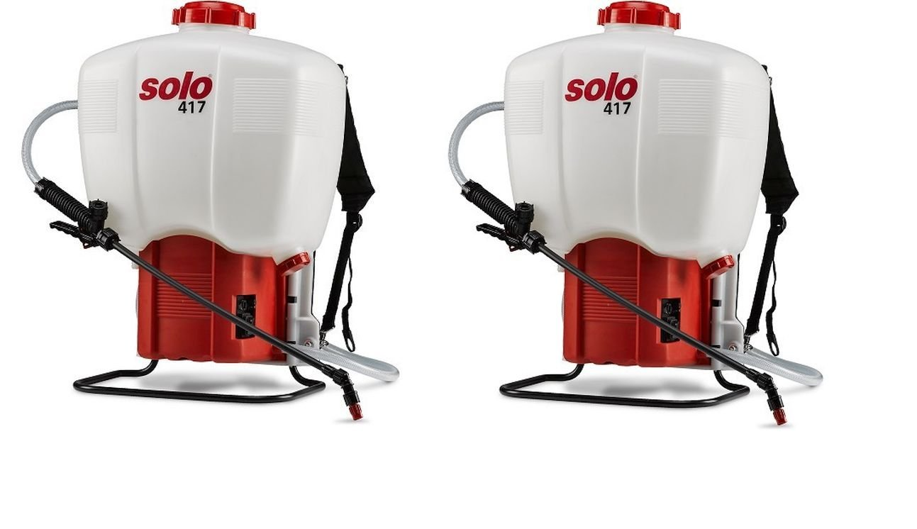 Pack of 2 - Solo 417 Rechargeable Electric Backpack Sprayer - Battery Powered