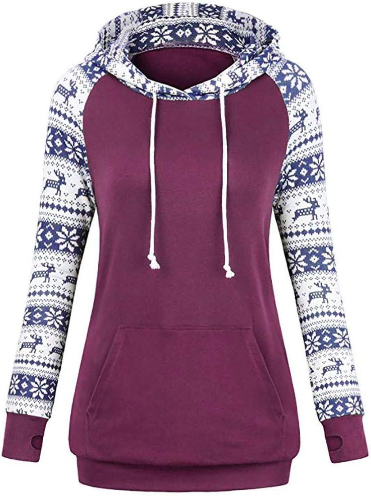 Chemise Tops Femmes, Xinantime Sweatshirts à Capuche