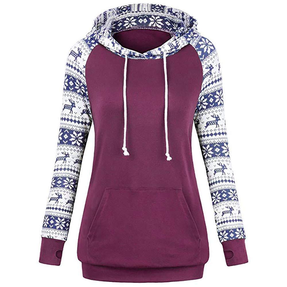 Inkach - womens hoodies SWEATER レディース Medium パープル B07HHZBPT9