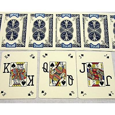 Poker Bicycle Pro Peek Playing Cards - 2 Decks!: Sports & Outdoors