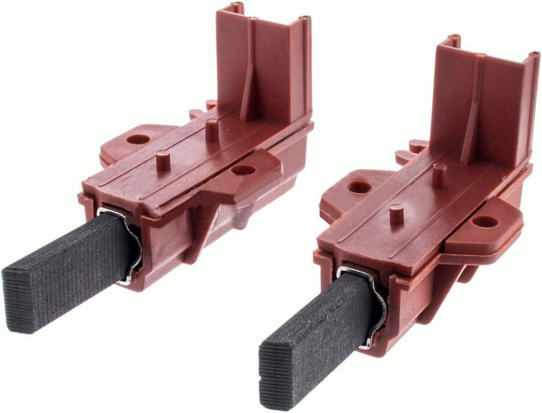 Recamania Cepillos Escobilla Motor Lavadora Universal 2 Unidades