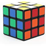 Speed Cube, Yoyamo 3x3x3 Sticker Speed Cube Smooth Magic Cube Puzzle