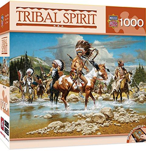 MasterPieces Tribal Spirit The Chiefs Jigsaw Puzzle, 1000-Piece