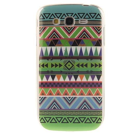 80 opinioni per HUANGTAOLI Custodia in Silicone TPU Case Cover per Samsung I9060i Galaxy Grand