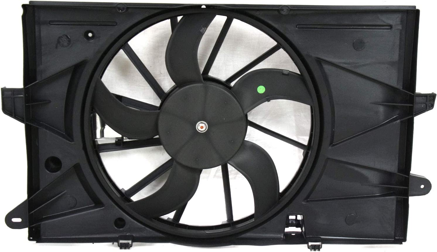 Radiator Fan Assembly for Ford Taurus 08-12 w/Controller