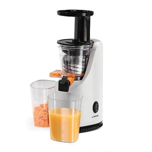 Licuadora verduras y frutas con boquilla Exprimidor eléctrico (500 ...