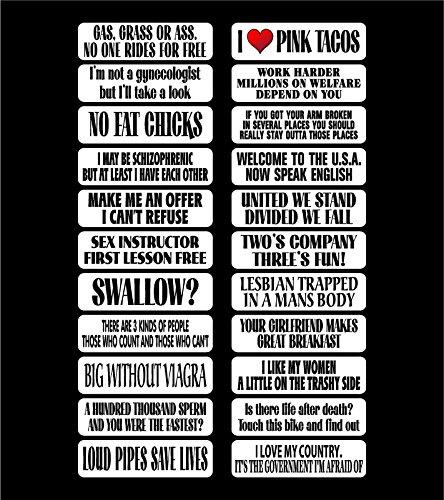 1 Big Sheet (22 stickers) fun sticker BEST OF AG HOLMES Biker Hard Hat Sticker / Decal / Label Tool Lunch Box Helmet Funny Flag /Bumper / Truck / Sticker / Decal 2