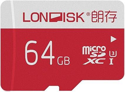 Amazon.com: LONDISK [10 años de garantía] 4K 64gb U3 Clase ...